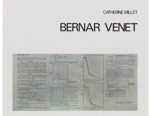 Catherine MilletBernar Venet