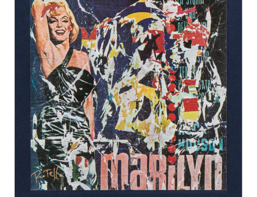 "Mimmo Rotella ""Marilyn"""