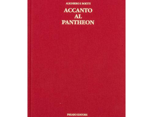 Alighiero BoettiAccanto al Pantheon