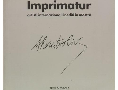 Achille Bonito OlivaImprimatur