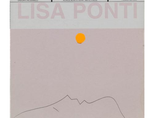 Lisa Ponti – Duello tra disegno e acquerello