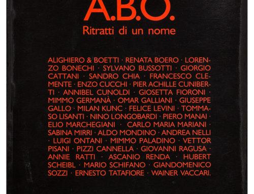 A.B.O Ritratti di un nome