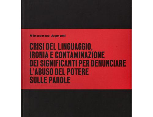 Tesi di Vincenzo Agnetti