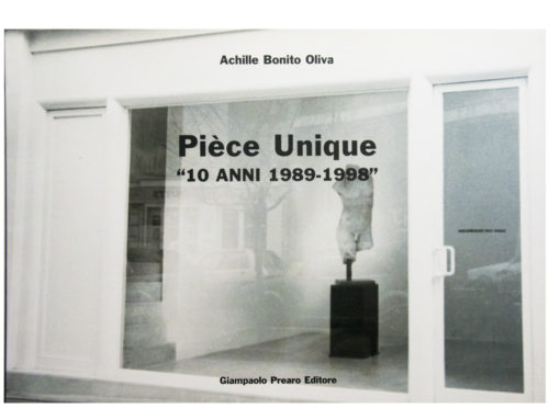 Piece unique – 10 anni 1988 – 1998